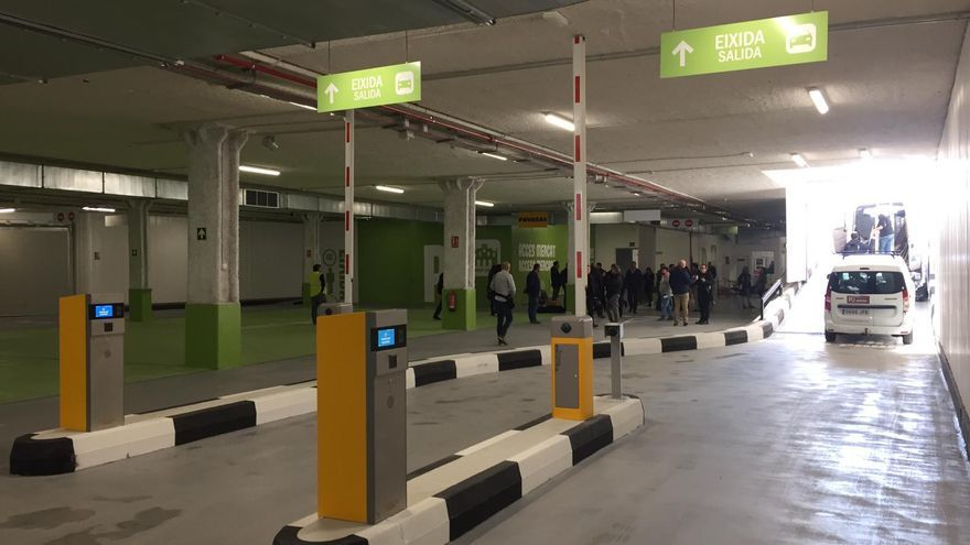 El aparcamiento subterráneo de Ciudad de Brujas, en Valencia