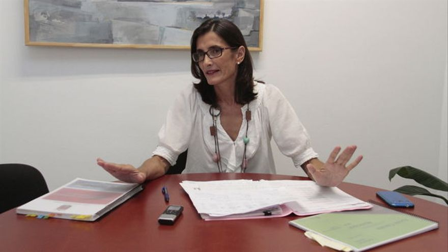 María Teresa Lorenzo, consejera canaria de Turismo