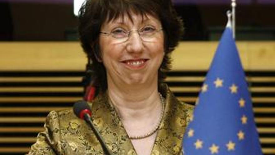 Catherine Ashton propuesta para Exteriores