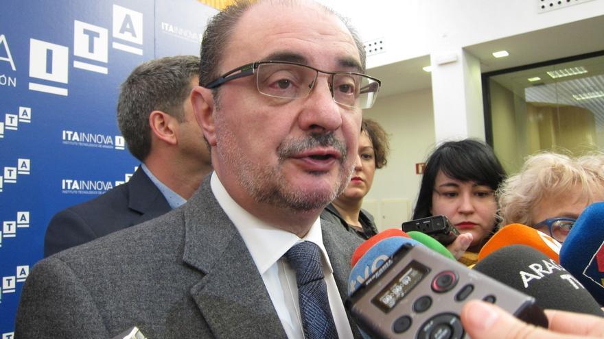 """Aragón prepara """"todas las estrategias jurídicas y políticas"""" para responder a un posible trasvase del Ebro a Cataluña"""
