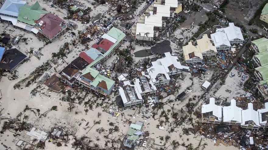 Nueve muertos en San Martín y Barbuda por el paso del huracán Irma