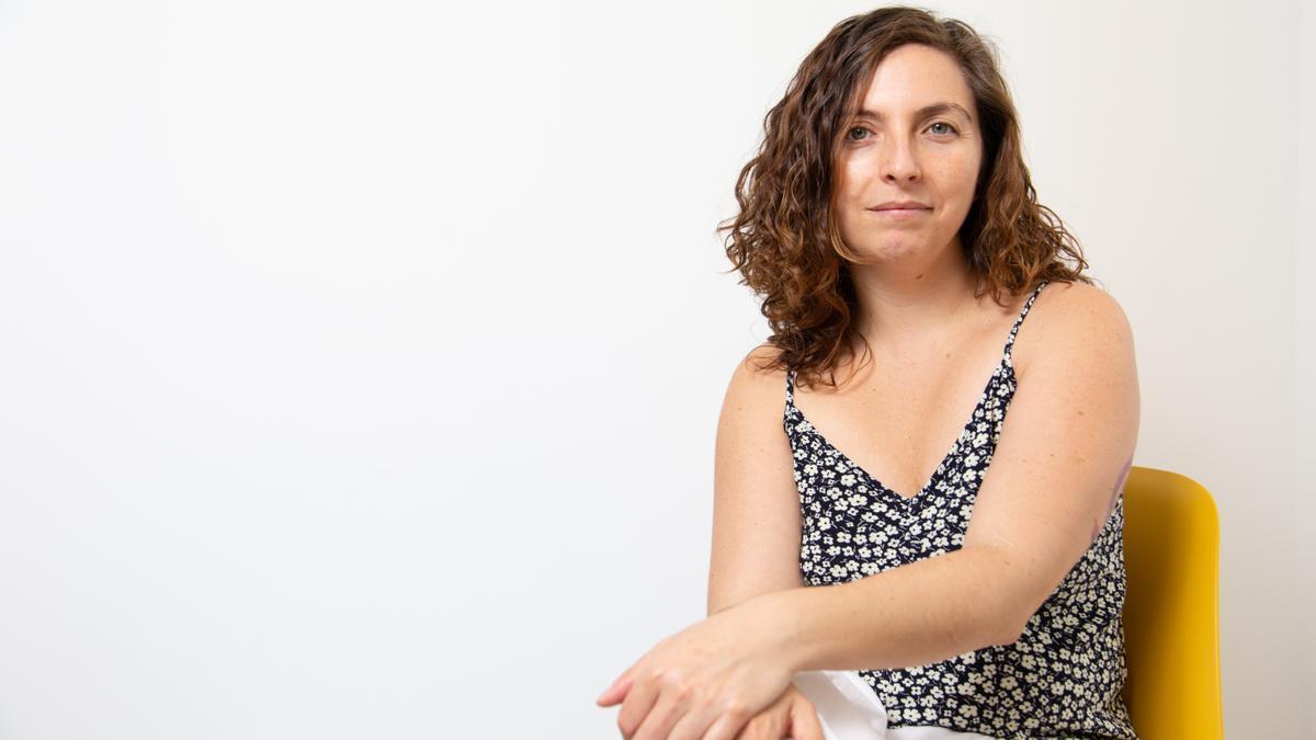 Virginia Murialdo, activista de El Parto es Nuestro, uno de los colectivos de referencia en España.