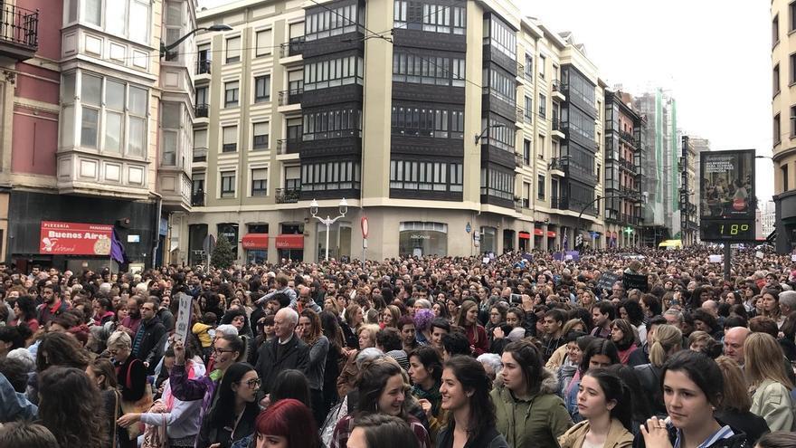 Concentración en Bilbao.