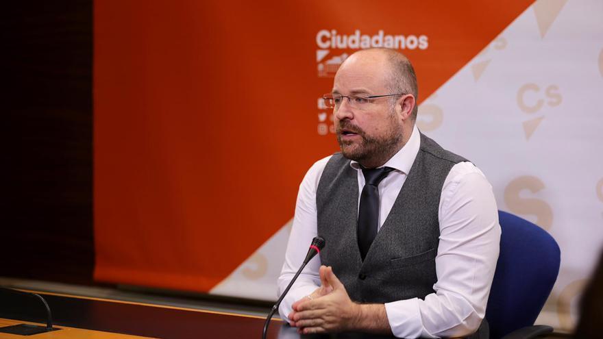 Alejandro Ruiz, presidente del Grupo Parlamentario Ciudadanos en Castilla-La Mancha