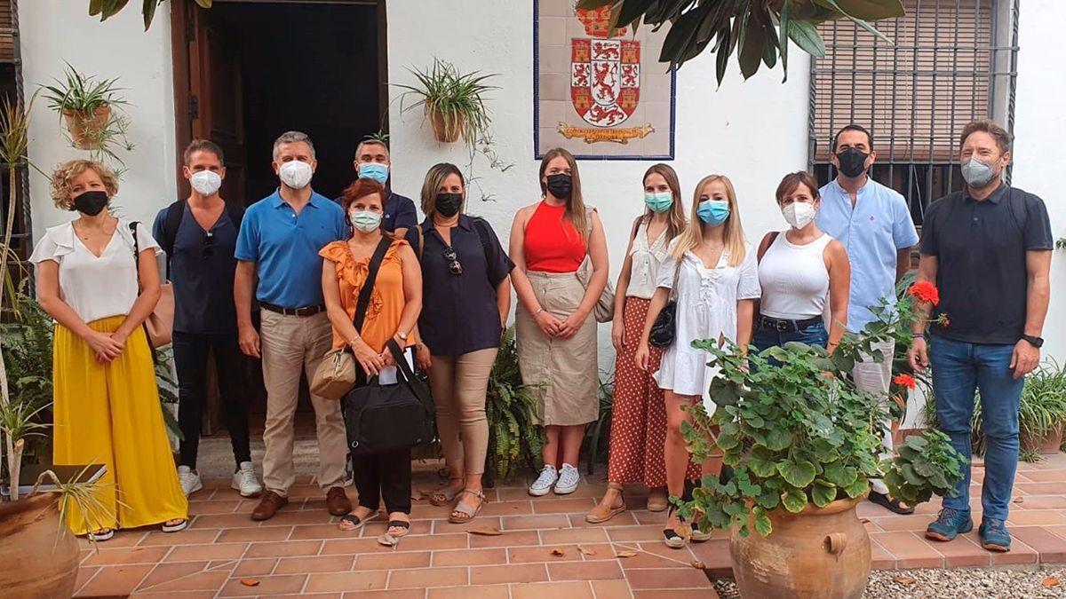Trabajadores sociales del Instituo Provincial de Bienestar Social.