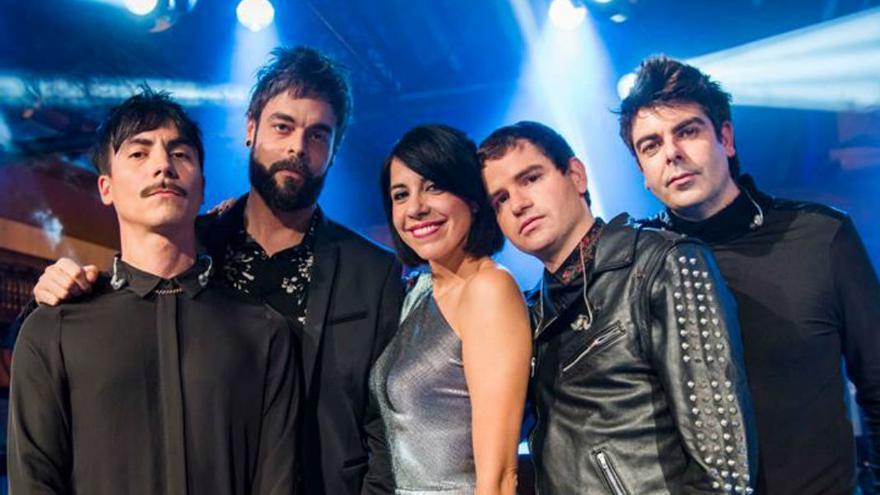 El grupo Dorian.