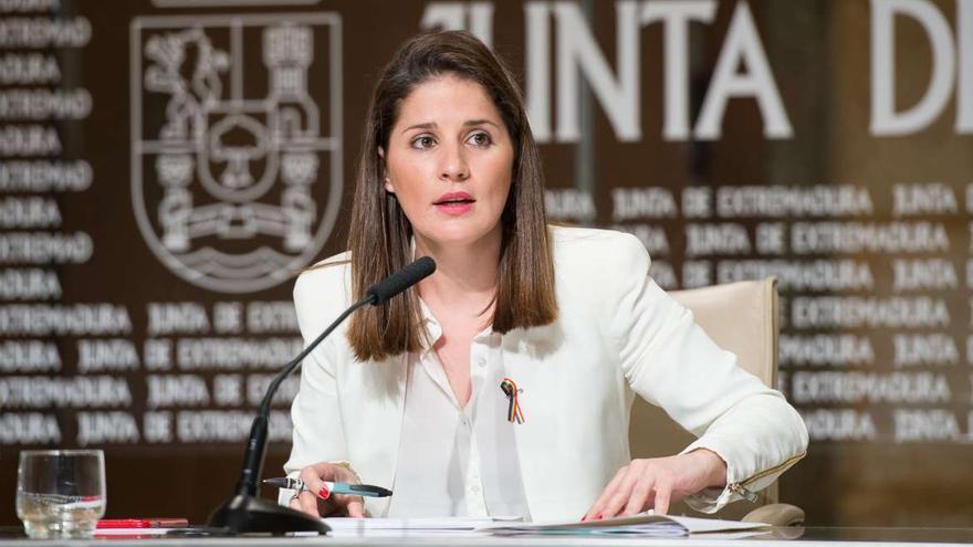 Isabel Gil Rosiña, portavoz de la Junta de Extremadura