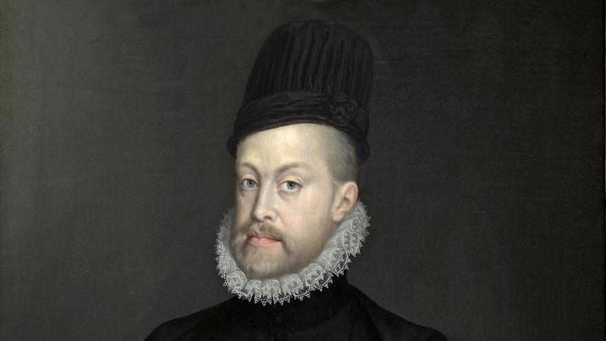 'Felipe II' (1565). ANGUISSOLA, SOFONISBA
