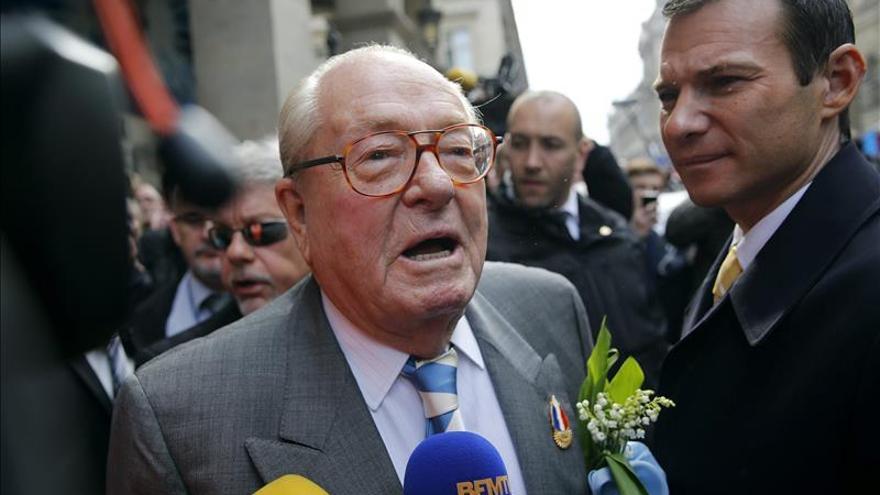 El Frente Nacional, reunido para decidir las sanciones a Jean-Marie Le Pen