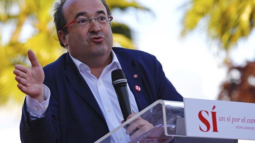 Iceta (PSC): El PSOE no podrá hacer presidente a quien no esté a la altura