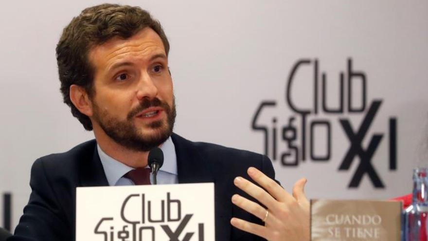 Casado afirma que el PP no descansará hasta que Maduro sea juzgado en La Haya