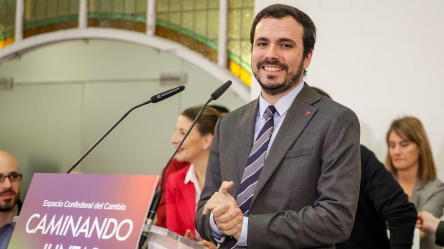 """Garzón ve a PNV como """"un partido conservador"""" y aboga por """"abrir la oportunidad a un gobierno de izquierdas"""" en Euskadi"""