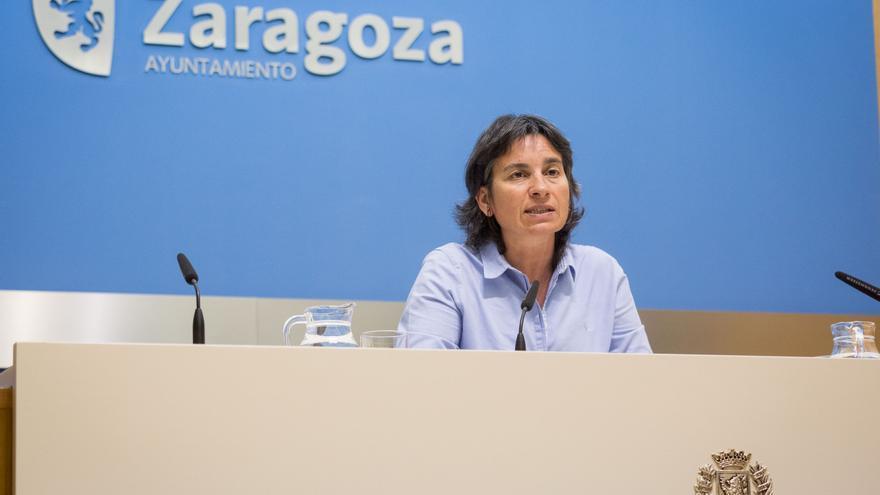 La consejera de Derechos Sociales del Ayuntamiento de Zaragoza, Luisa Broto, en una imagen de archivo