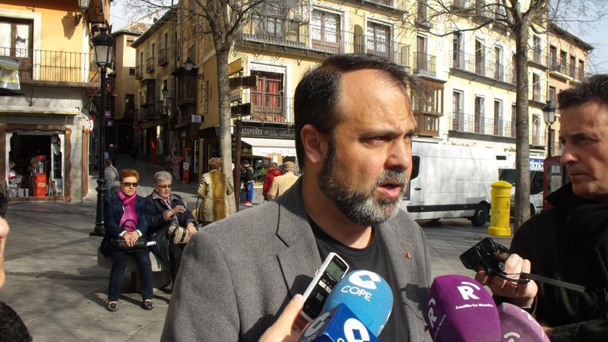 El candidato de IU a la Alcaldía de Toledo, Javier Mateo