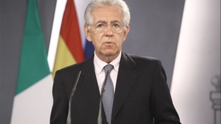 El primer ministro italiano, Mario Monti