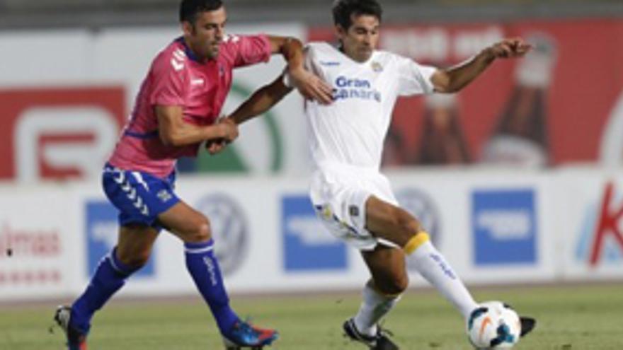 Imagen del partido de vuelta de la II Copa Mahou Canarias que se disputó en el Estadio de Gran Canaria entre la UD Las palmas y el CD Tenerife. udlaspalmas.es