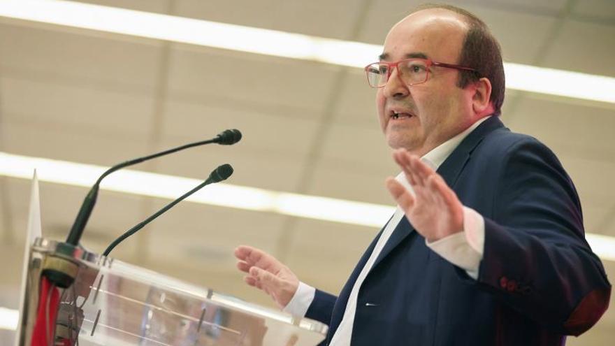 """Iceta, sobre Pérez de los Cobos: """"Los cargos de confianza no son eternos"""""""