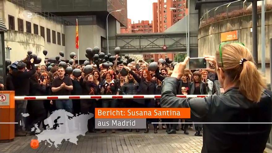 """La """"censura"""" en RTVE y la """"rebelión"""" de sus trabajadores cruzan fronteras y llegan a Alemania"""