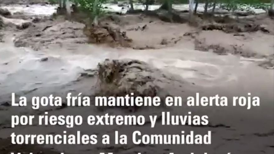 Dos hermanos mueren al volcar su coche por el temporal en Albacete