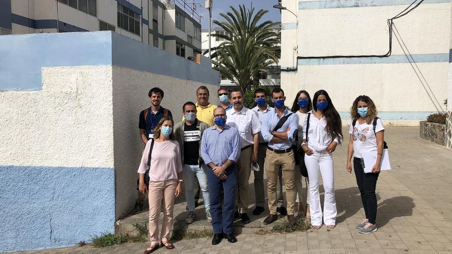 Comienzan los trabajos del estudio estructural de 150 bloques de la Urbanización El Cardonal