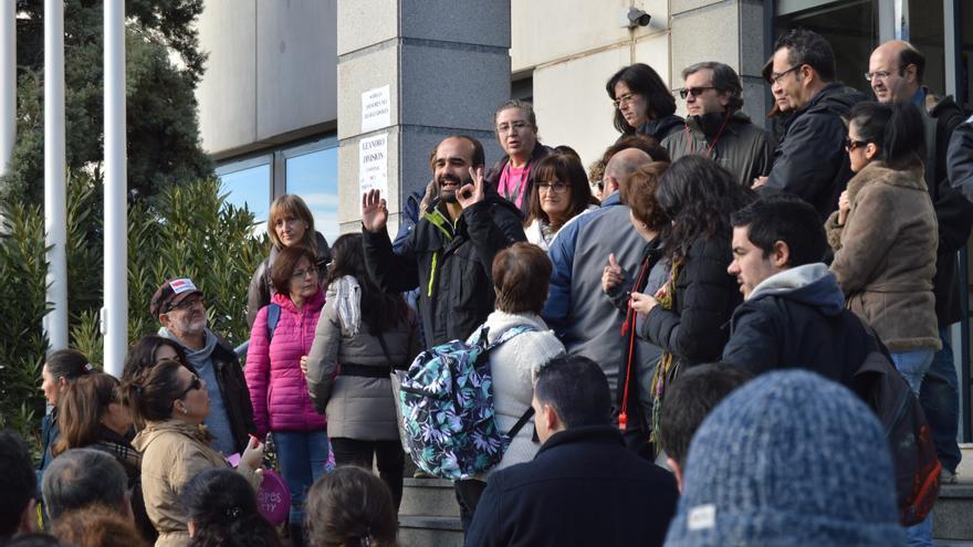 Representante de los sindicatos en la negociación de interinos de Castilla-La Mancha / Foto: Javier Robla