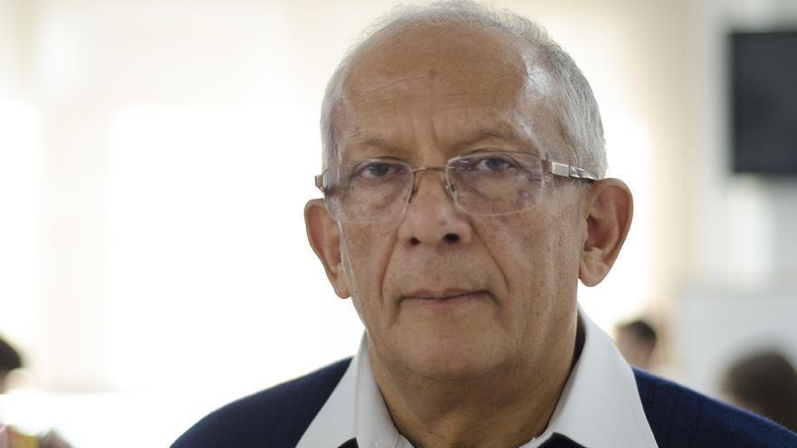 Eduardo Carreño, presidente del Colectivo de Abogados José Alvear Restrepo (Colombia), en la redacción de eldiario.es | Foto: Alejandro Navarro Bustamante.
