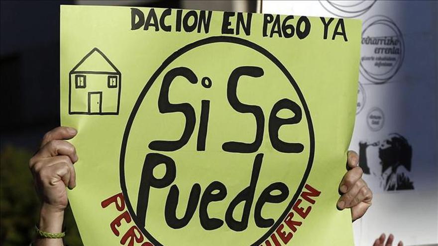 Manifestación en Pamplona a favor de los derechos sociales y contra la pobreza