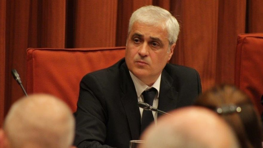 El exconseller de Justicia Germà Gordó, ante el TSJC este jueves por el caso 3%