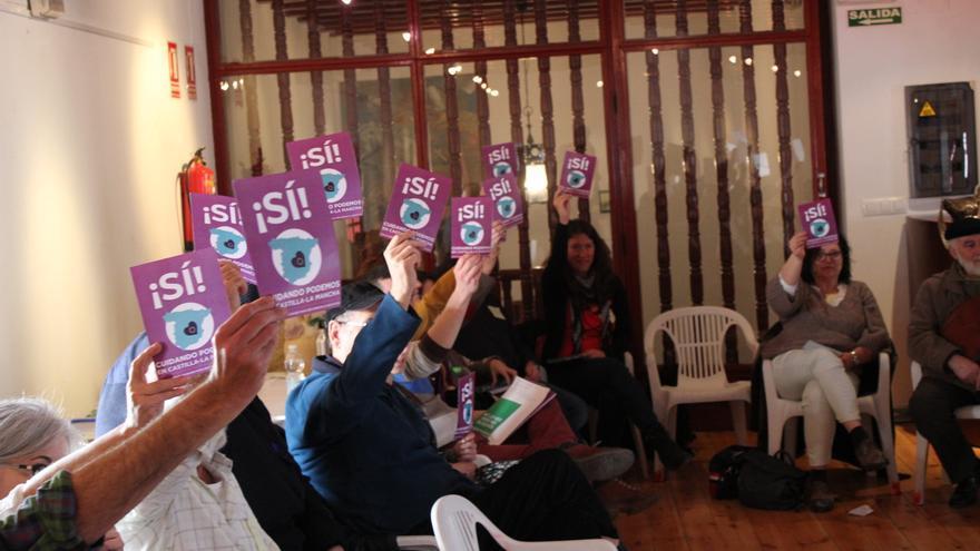 Votaciones asamblea 'Cuidando Podemos'