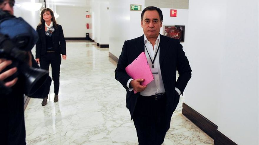 José Carlos Margüello, en el Parlamento Vasco