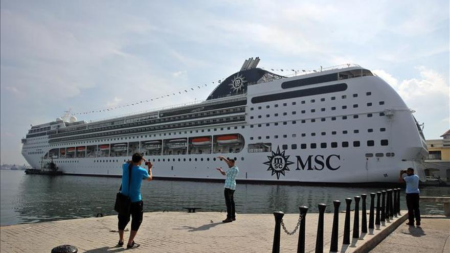 Llega a Cuba el crucero MSC Opera, el más grande que ha hecho escala en la isla