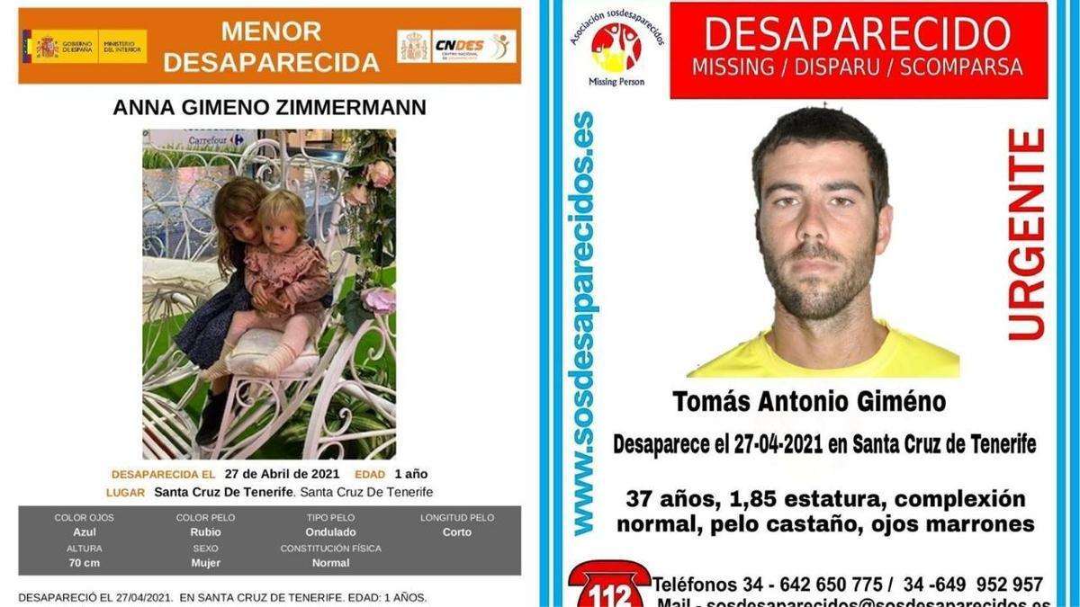 Desaparecidas dos menores de edad y un hombre de 37 años en Tenerife.