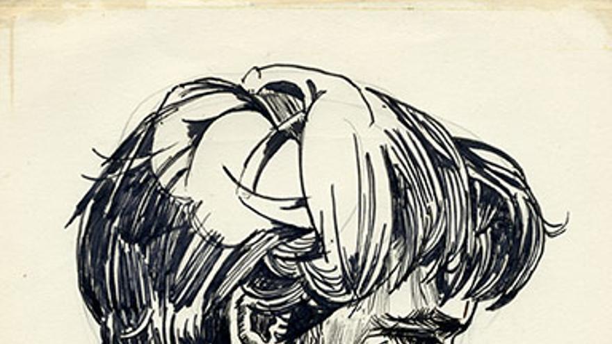 Sylvia Plath: retrato de Ted-Hughes