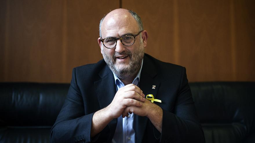 Eduard Pujol, portavoz del grupo parlamentario de Junts per Catalunya
