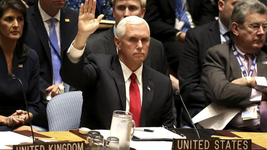 Pence lanza duras críticas al papel del Consejo de Derechos Humanos de la ONU