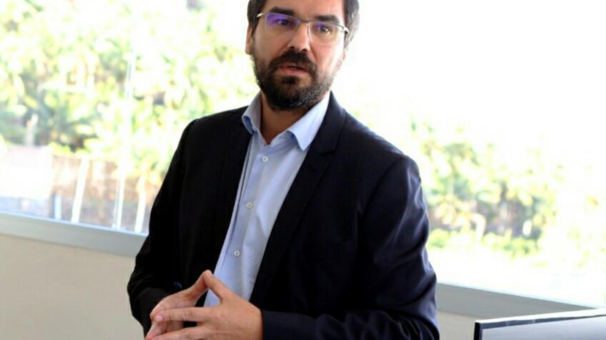 Manuel Martínez, consejero insular de Aguas en el Cabildo de Tenerife, en un retrato reciente