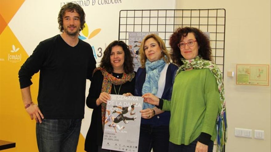 De izquierda a derecha, Pablo Rabasco, Dolores Amores, Rosario Mérida y Mar Montávez.