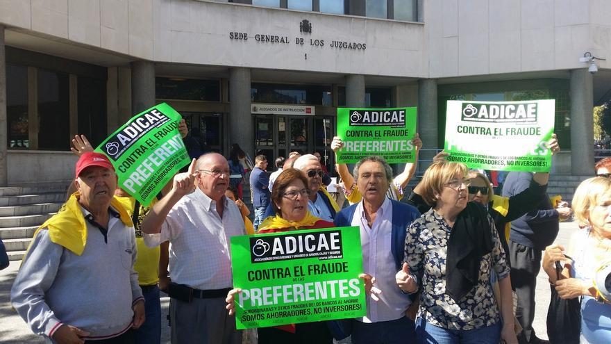 Visto para sentencia el juicio de la macrodemanda contra Caja Madrid por preferentes