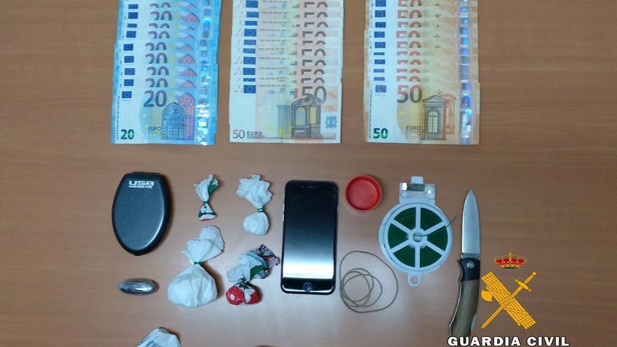 Detenido un joven de Castro Urdiales por tráfico de drogas