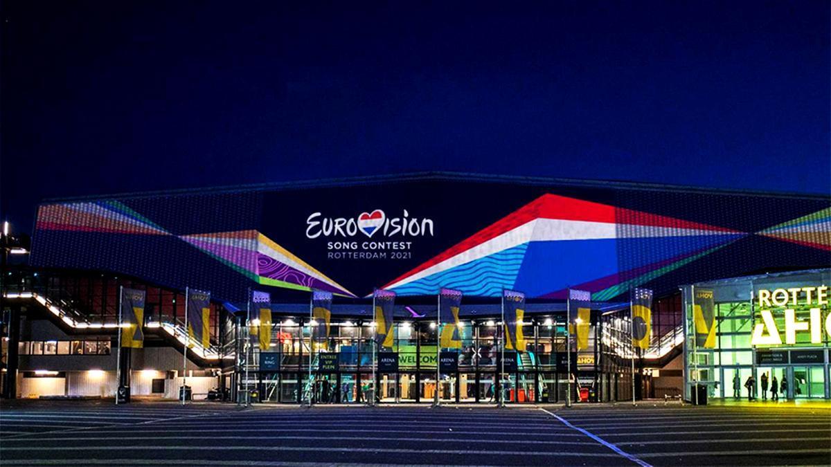 Imagen exterior del Ahoy Arena de Rotterdam