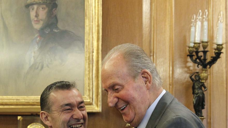 """Rivero constata que los asuntos de Canarias """"están en la agenda de la Casa Real"""""""