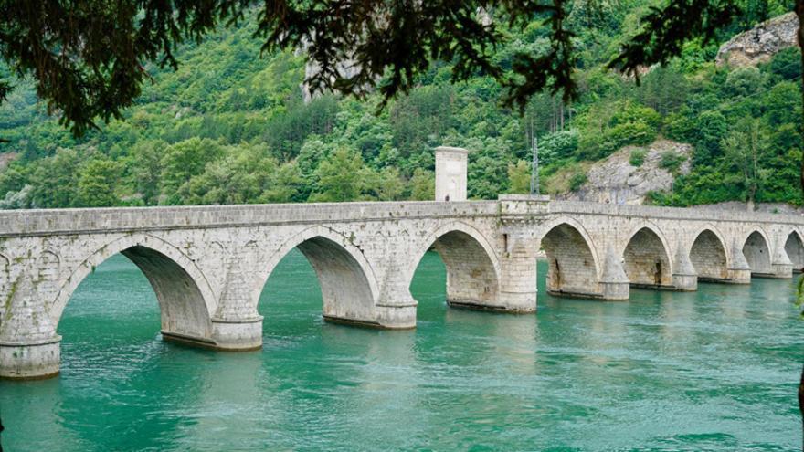 El puente sobre el Drina, Bosnia