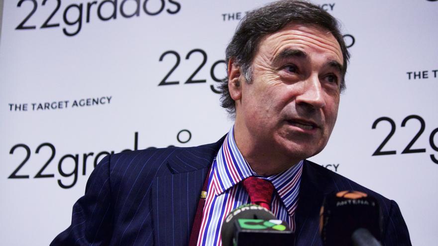 Pedro J. Ramírez en la conferencia dada en Las Palmas de Gran Canaria | Cirenia Vico.