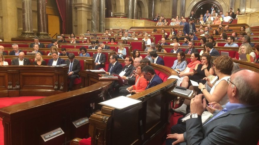 JxSí y la CUP prevén registrar la ley del referéndum en el Parlament el viernes o el lunes