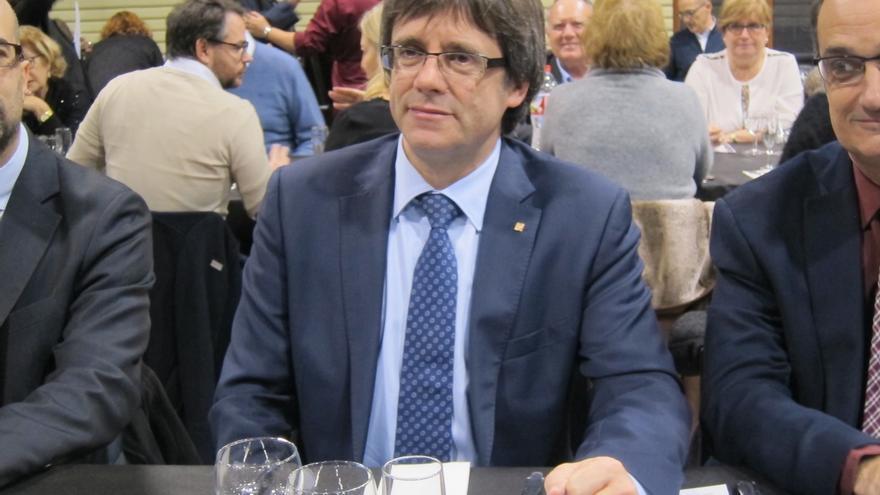 "Puigdemont erige al PDeCAT como la fuerza decisiva capaz de ""plantarse"" ante la CUP"