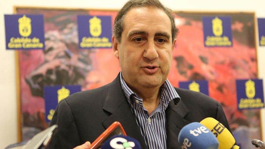 El consejero del PP en el Cabildo de Gran Canaria Felipe Afonso El Jaber