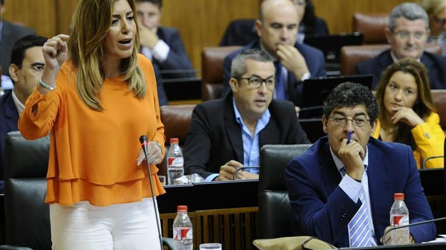 Susana Díaz dice que Andalucía ejercerá el liderazgo para garantizar la igualdad en España