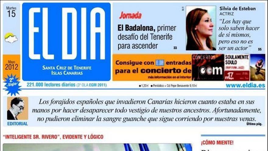 De las portadas del día (15/05/2012) #4