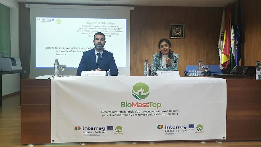 Presentación del proyecto 'Biomasstep'.