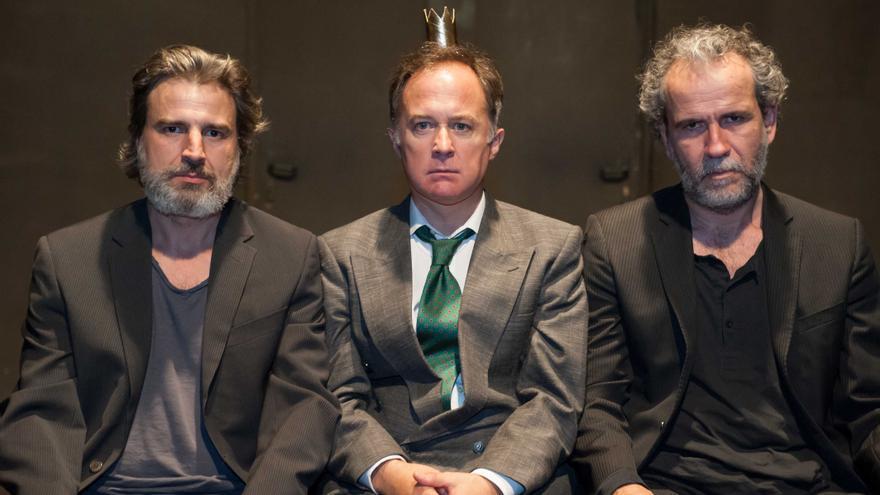 Alberto San Juan, Luis Bermejo y Willy Toledo// Foto: Armando Vázquez